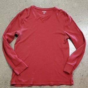 Red Old Navy Thermal